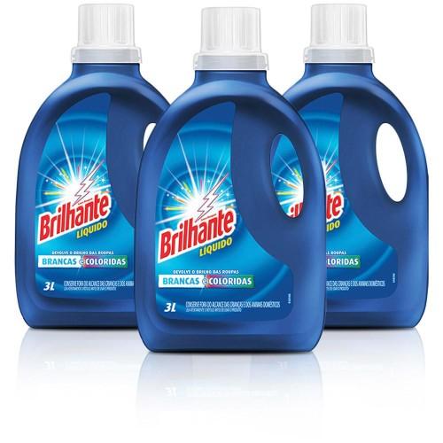 kit-com-9-litros-de-sabao-brilhante-liquido-3-litros-cada