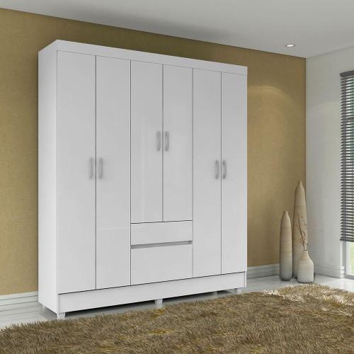 guarda-roupa-demobile-flash-branco-6-portas-2-gavetas